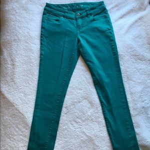The Limited Emerald Green Jeans
